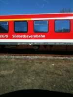 Sudostbayernbahn/185365/suedostbayernbahn-am-1632012 Südostbayernbahn am 16.3.2012.