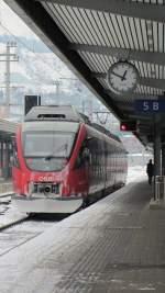 br-4023-4024/181761/am-14februar-2012-kam-der-innsbrucker Am 14.Februar 2012 kam der Innsbrucker 4024 091-2 pünktlich um 12:47 mit REX 5216 aus Wörgl Hbf in Innsbruck Hbf an, um dann als S4 um 12:52 Richtung Brennero/Brenner zu fahren.